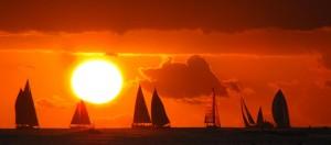 Olivia Newport Sunset and Sails