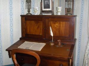 Olivia Newport antique writing desk