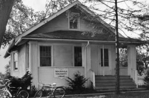 Olivia Newport childhood library