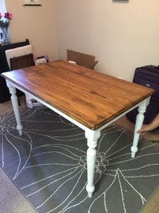 Olivia Newport stained table