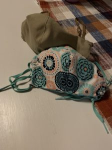 Olivia Newport COVID masks